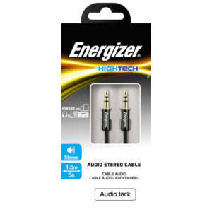 Energizer Audio Stereo Cable Jack 3.5/3.5 Mobile Store Ecuador